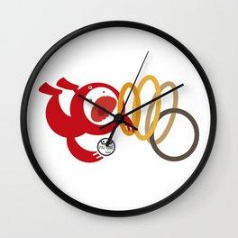 Pal-Acrobat Wall Clock