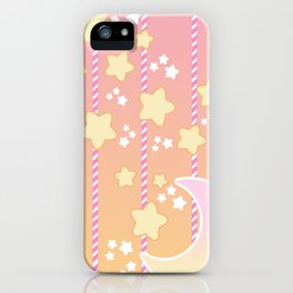 Tutti Fruity Moon Star iPhone Case