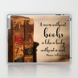 A room without books Laptop & iPad Skin