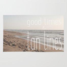 Good Times & Tan Lines Rug