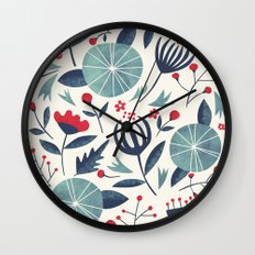 Juniper Wall Clock