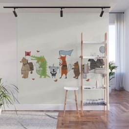 lets all go exploring Wall Mural