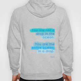 Ocean in a Drop Hoody