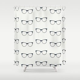 Sunglasses pattern Shower Curtain
