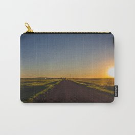 Country Road, Golden Valley County, North Dakota Carry-All Pouch