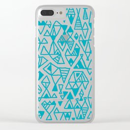 Abstract geometric pattern I Clear iPhone Case