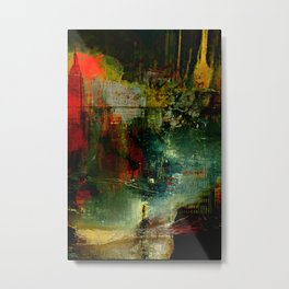 The city which fell asleep Metal Print