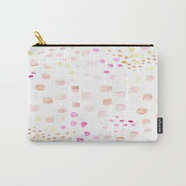 pink dot abstract Carry-All Pouch
