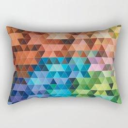 Geometric gradient pattern Rectangular Pillow