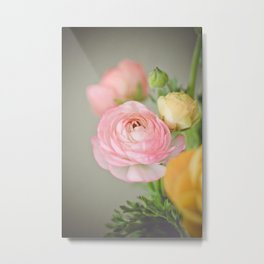 Just one pink Metal Print