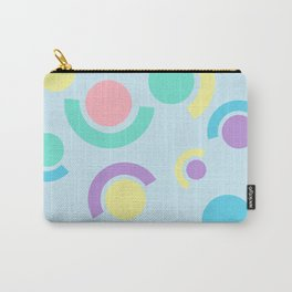 Abstract Circles & Dots Carry-All Pouch