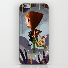 Walk In The Woods iPhone & iPod Skin