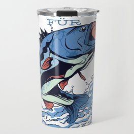 Fishing only thing for men Travel Mug