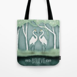 The Crane Princesses Tote Bag