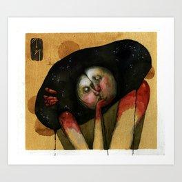 Love : Universe : One Art Print