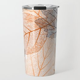 Autumn's Falling Leaves Travel Mug
