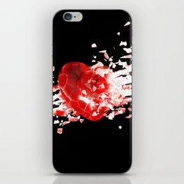 Unstable Love iPhone Skin
