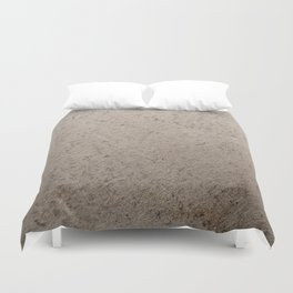 Clay Sandstone Duvet Cover