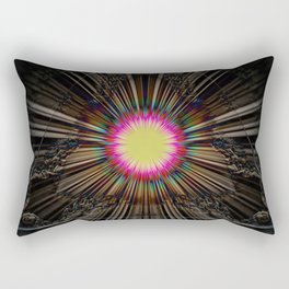 Triangle of light. Rectangular Pillow