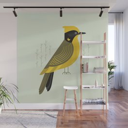 Helmeted Honeyeater, Bird of Australia Wall Mural