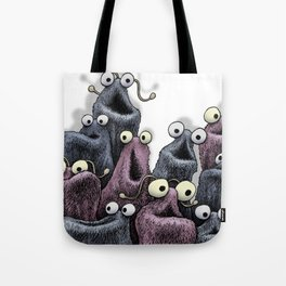 Yip Yip (white background) Tote Bag
