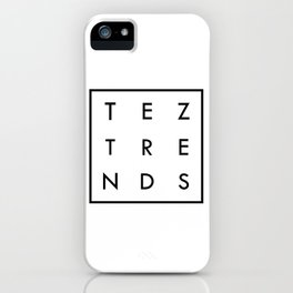 Tez Trends Logo Collection iPhone Case