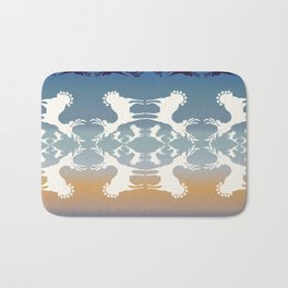 Cervidae Deer in the Magic Hour Bath Mat