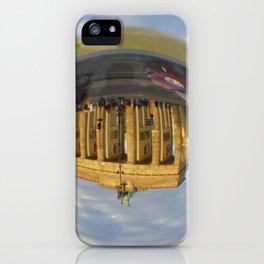BERLIN Brandenburg Gate sunset, Germany / Glass Ball Photography iPhone Case