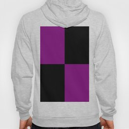 Psychedelic black and purple XIII. Hoody