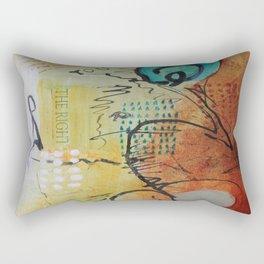 The Right You Rectangular Pillow