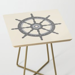 AFE Gray Helm Wheel Side Table