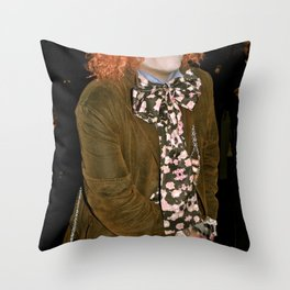 Strange things are happening Throw Pillow