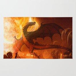 Dragon's world Rug