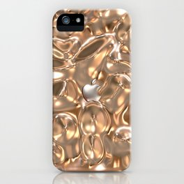 GOLDEN TEXTURE PINK For IPhone iPhone Case