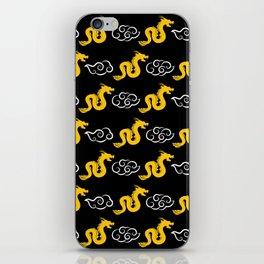 Chinese black gold 4 iPhone Skin
