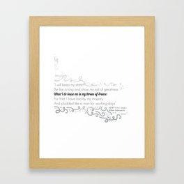 HENRY V Framed Art Print