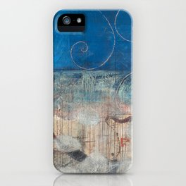 Chicxulub - aqua version iPhone Case