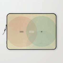Design is Where Science and Art Break Even Laptop Sleeve