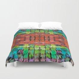 187 - colour abstract design Duvet Cover