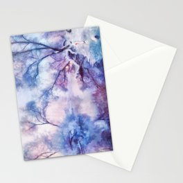 Winter fairy tale II Stationery Cards