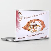mozart Laptop & iPad Skins featuring Mozart & Salieri by MENAGU'