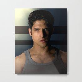 Scott Portrait Metal Print