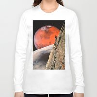 explore Long Sleeve T-shirts featuring Explore by Djuno Tomsni