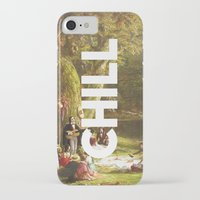 chill iPhone & iPod Cases featuring Chill by eARTh