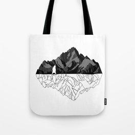 Mountains Bear Tote Bag