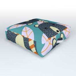 Four bears Outdoor Floor Cushion
