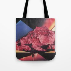 Neon Highway Tote Bag