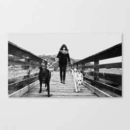 Mother of Dogs Canvas Print