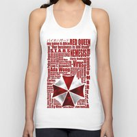 resident evil Tank Tops featuring Resident Evil Story... by Rosso