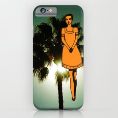 palm tree girl  iPhone 6s Slim Case